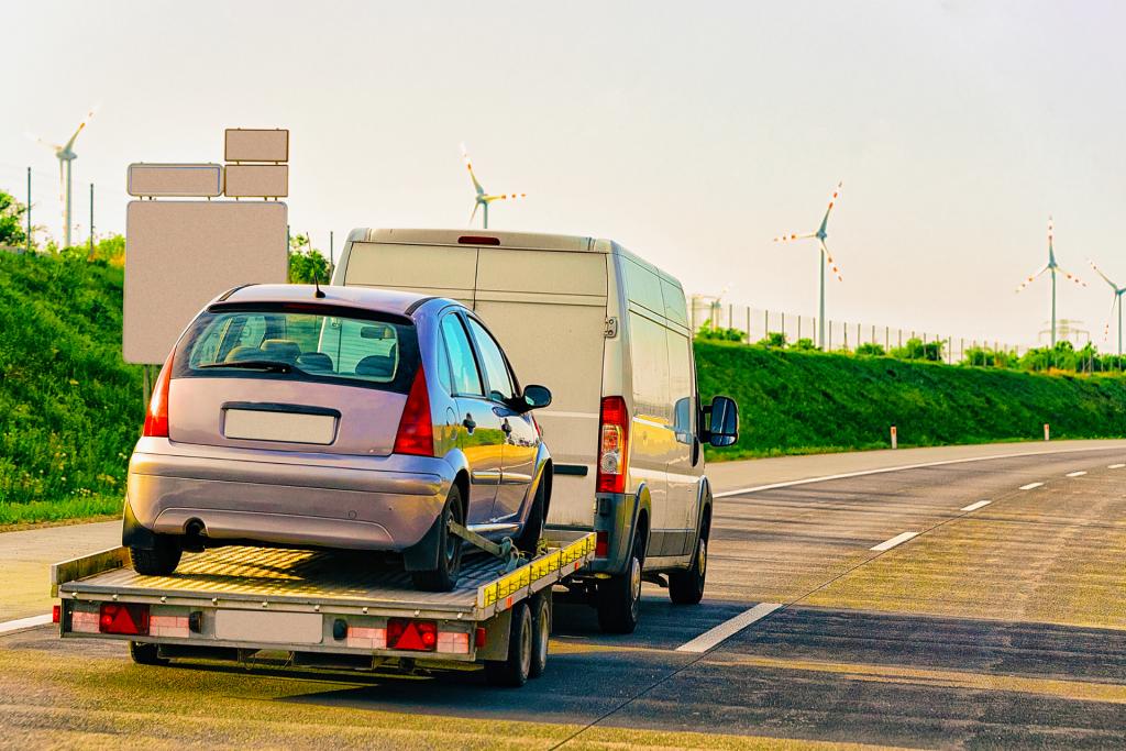 Fahrzeugtransport zwischen der Schweiz und Deutschland
